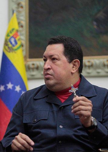 Hugo Chávez: presidente Zumbi