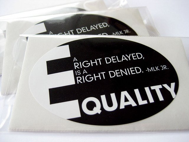 Frase de Martin Luther King sobre igualdade