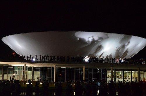 Manifestações em Brasília - Primavera Brasileira