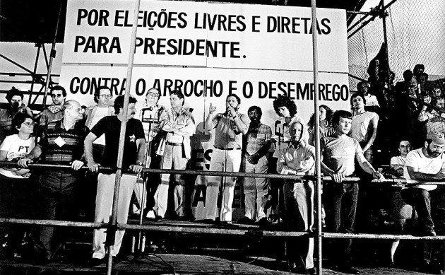 Diretas Já. Foto: Agência Senado