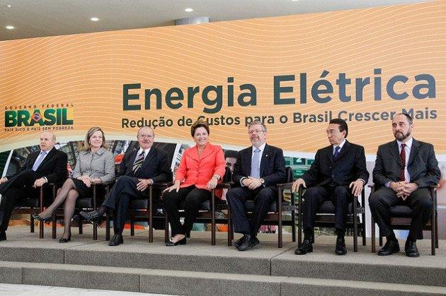 Dilma: péssima gestão do setor elétrico