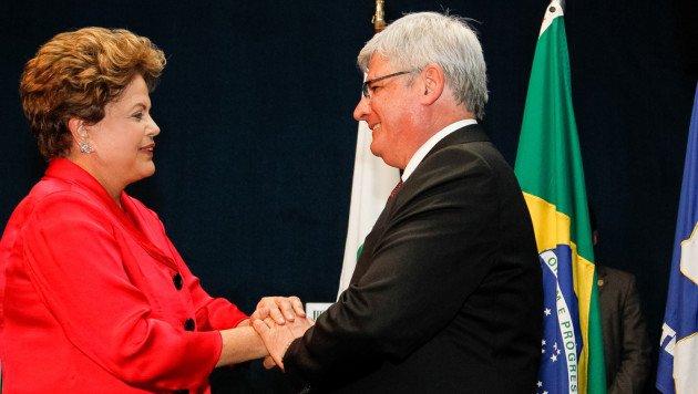 Dilma Rousseff e Rodrigo Janot
