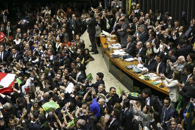 Votação do impeachment de Dilma Rousseff na Câmara dos Deputados