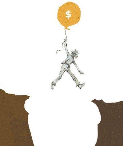 O abismo econômico e social