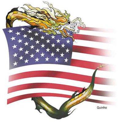 O conflito China-EUA