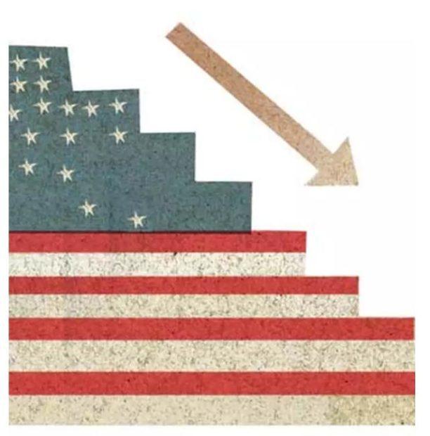 O declínio americano